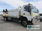 2009 Isuzu FTS 800 4x4 Crane Truck