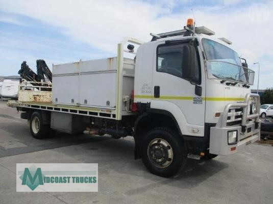 2009 Isuzu FTS 800 4x4 Midcoast Trucks - Trucks for Sale