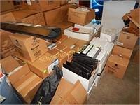 boxes of binders
