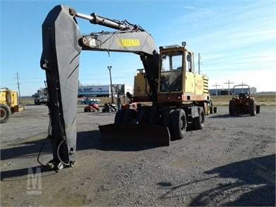 Akerman Wheel Excavators Auction Results - 3 Listings