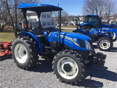 NEW HOLLAND 40 HP To 99 HP Tractors For Sale - 870 Listings