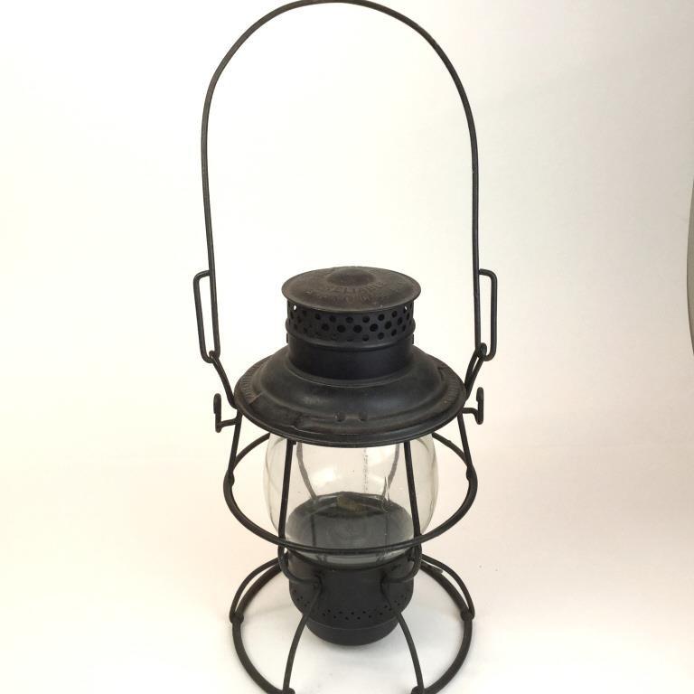 Vintage RR Lantern Marked P R R  Pennsylvania RR