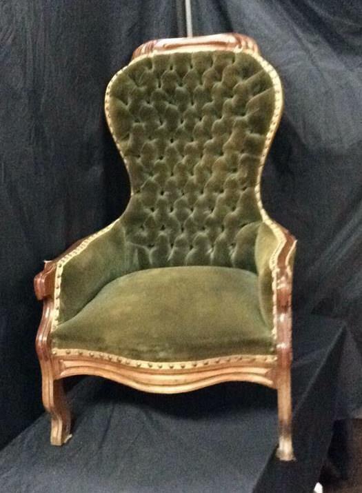 Outstanding Victorian Accent Chair Midland Bid Junkies Creativecarmelina Interior Chair Design Creativecarmelinacom