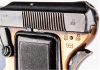 Gun Beretta Brevet 418 Semi Auto Pistol in  25 ACP