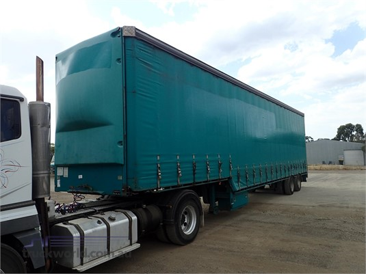 2003 Vawdrey Curtainsider Trailer Trailers for Sale