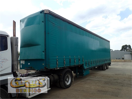 2003 Vawdrey Curtainsider Trailer Grays Bendigo - Trailers for Sale