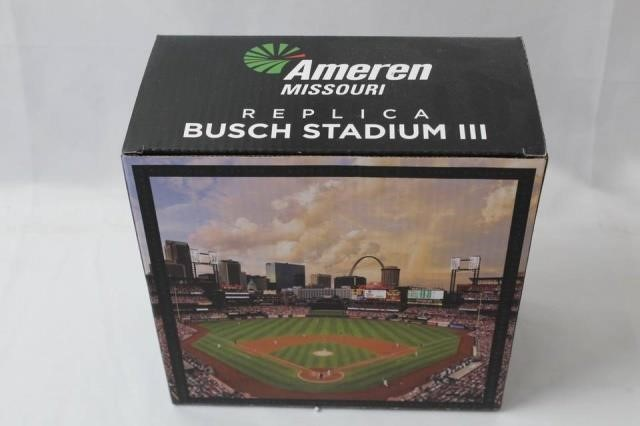 MIB SGA Replica Busch Stadium III W/ Lights | Antique 2