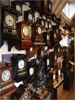Herb Wallace Personal High End Antique Clock Collection Sale