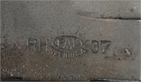 WWII MK2 PAL RH-37 U S  NAVY KNIFE W/ RED SPACER   Milestone