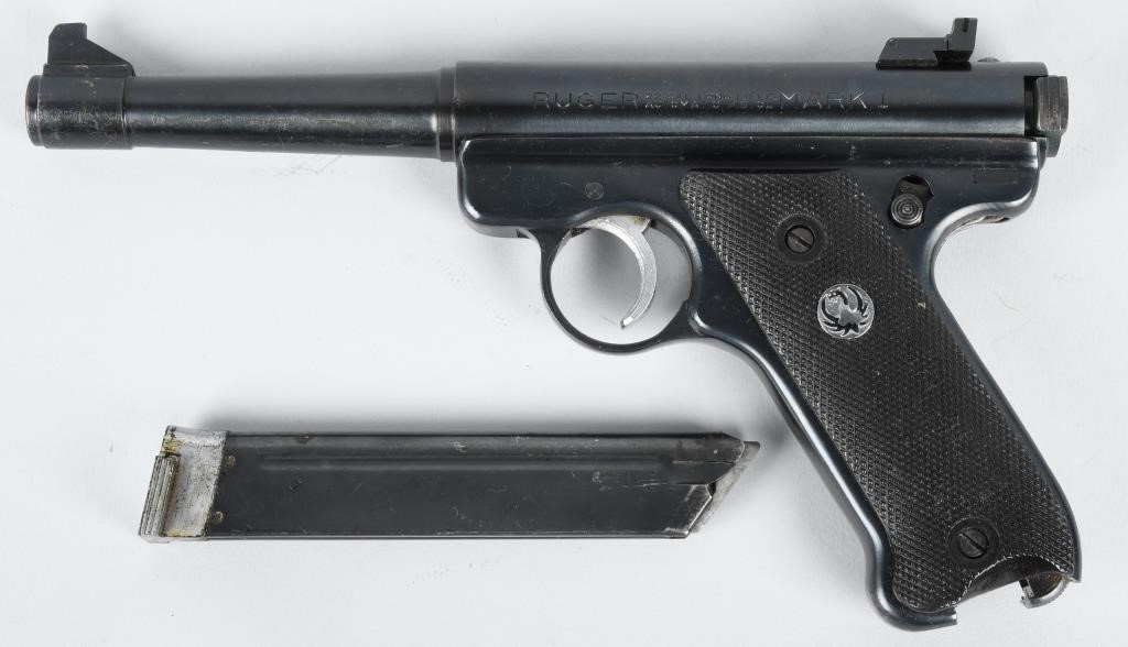 RUGER 5-1/4 TARGET AUTOMATIC  22 LR PISTOL | Milestone Auctions