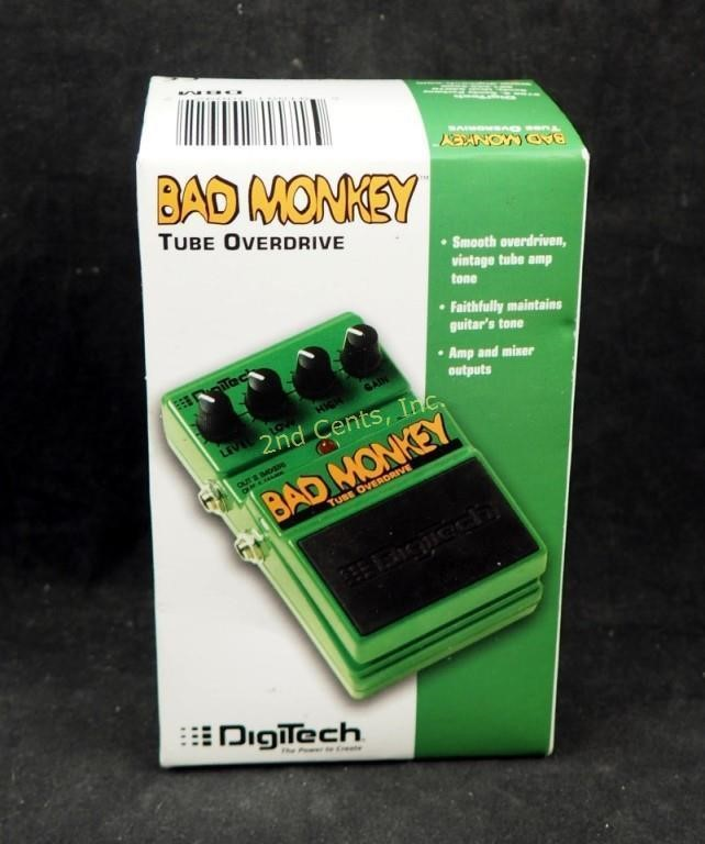 Digitech Bad Monkey Tube Overdrive Pedal | 2nd Cents Inc