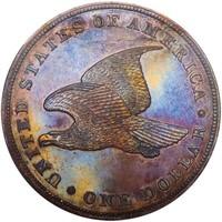 $1 1836 J-65. RESTRIKE PCGS PR64+ CAC