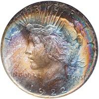 $1 1922 PCGS MS66