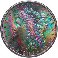 $1 1881-S PCGS MS66 CAC