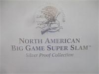 North American Big Game Super Slam Silver Proof