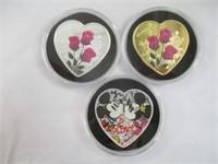 3) Heart Coins