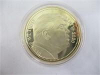 Donald Trump Gold Foil Bill, Commemorative Coins
