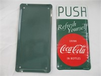 Coca-Cola Door Signs