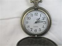 Horses Pocket Watch
