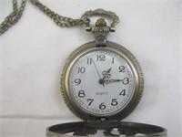 Horse Pocket Watch