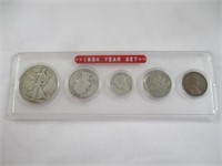 1934 Coin Set