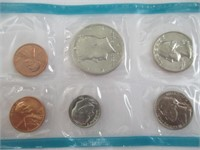 1972 Proof Set, 1961 and 2007 Dimes