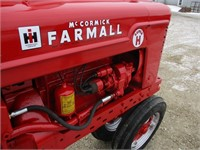 Farmall Super H Tractor Live Hydraulics | Graves Online Auctions