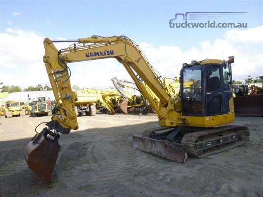 2013 Komatsu PC88MR-8 - Heavy Machinery for Sale