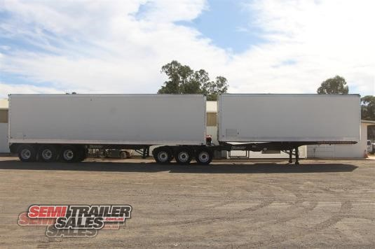 2004 Vawdrey 34 Pallet BDouble Combination Semi Trailer Sales - Trailers for Sale