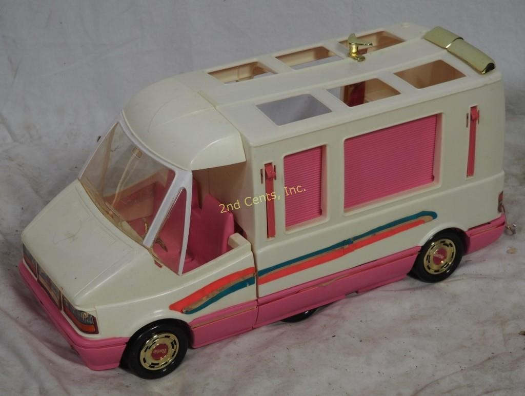 1988 Barbie Pink Winnebago Van Camper | 2nd Cents Inc