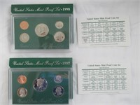 1997 and 1998 United States Proof Sets