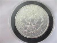 1890 Silver Morgan Dollar, MS60
