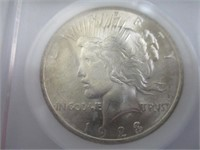 1923-P Peace Silver Dollar, MS 64 Uncirculated