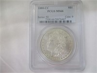 1880-CC Carson City Morgan Silver Dollar