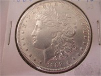 1888 Silver Morgan Dollar EF40