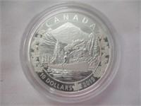 1982 Canada Silver Dollar, Mint Regina, Elizabeth