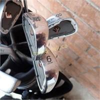 Lefty Golf Clubs, Bag & Cover