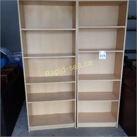 Two Bookcases