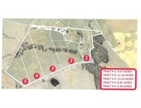 50+/- AC. IN 5 TRACTS-MASTER COMMISSIONER'S SALE