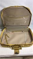 "Vintage K Gimble N Y luggage bag 18""x12""x4"""