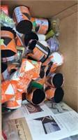 Lot of Rug Yarn various colors & Loop Weaving Kit