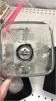 Vintage Osterizer Pulse-Matic Blender W/glass
