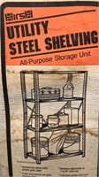 Hirsh Utility Steel Shelving in sealed box