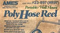 Ames PolyHose Reel Portable/Wall Mount