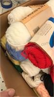 Bulk lot of knitting yarn Approx 30 skeins