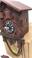 Vintage German Made Small  Wooden Coo-Coo Clock