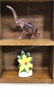 Wall Hanging Shadow Box with Mini collectibles