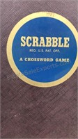 Vintage Scrabble Game Mfg by Selchow & Righter