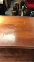 Wood Bookcase 4 shelves 23x12x48 tall no mfg