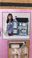 1985 Wooden Doll House Building Kit Still In
